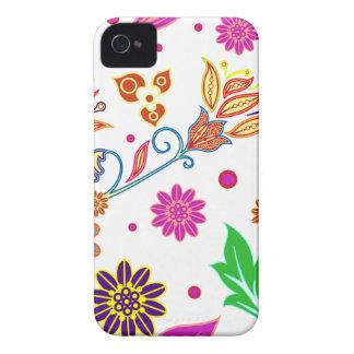 Abstrakter BlumeniPhone 4s Fall iPhone 4 Hüllen