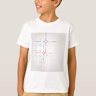 Abstrakter bunter Hintergrund T-Shirt