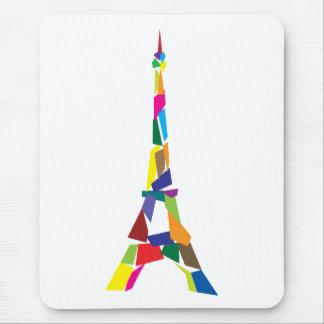 Abstrakter Eiffel-Turm, Frankreich, Paris Mousepads