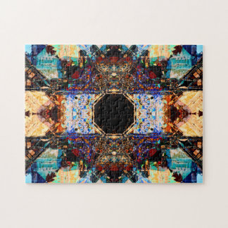Abstrakter EntspannungMandala der Fraktal-| Puzzle