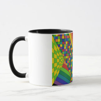 Abstrakter Entwurf 2 Tasse