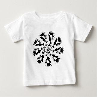 Abstrakter Entwurf Art. Baby T-shirt