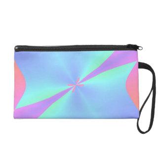 Abstrakter Entwurf Bagette Wristlet Handtasche
