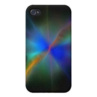Abstrakter Entwurf der sternartigen iPhone 4 Hülle