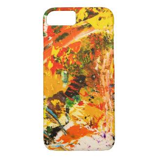 Abstrakter Entwurf iPhone 8/7 Hülle