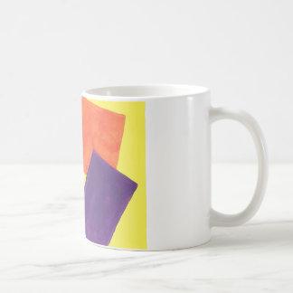 Abstrakter Entwurf von der ursprünglichen Malerei Kaffeetasse