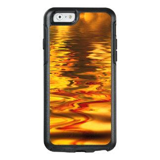 Abstrakter Entwurfs-helle Wasser-Oberfläche OtterBox iPhone 6/6s Hülle