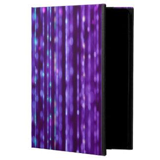 Abstrakter Entwurfs-lila und silbernes Spektrum