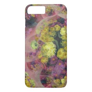 Abstrakter Entwurfstelefonmit blumenkasten iPhone 8 Plus/7 Plus Hülle