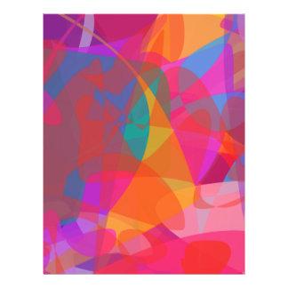 Abstrakter Expressionismus Individuelle Flyer