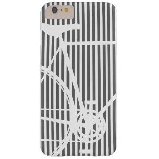 Abstrakter Fahrrad iPhone 6 Schwarzweiss-Kasten Barely There iPhone 6 Plus Hülle