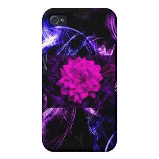 Abstrakter Fall der Rose iPhone 4 Etui