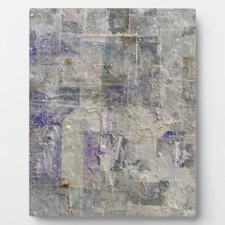abstrakter Farbenhintergrund Fotoplatte