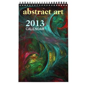 Abstrakter feine Kunst-Kalender der Kunst-2013 Wandkalender