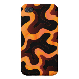 Abstrakter flüssige Lava iPhone 4 Fall iPhone 4/4S Cover