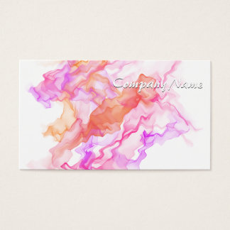 Abstrakter Fraktal-Rauch Visitenkarte
