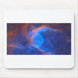 Abstrakter galaktischer Nebelfleck mit kosmischer Mousepad