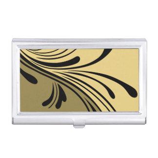 Abstrakter Geschäfts-Karten-Kasten-Entwurf Visitenkarten Etui
