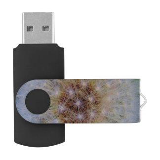 Abstrakter Gewohnheit White8 GB USB-Stock Swivel USB Stick 2.0