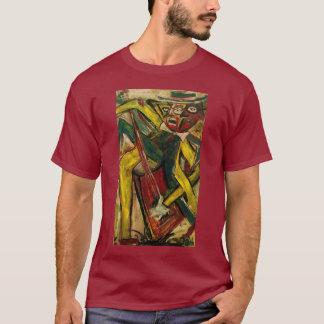 Abstrakter Gitarrist IV T-Shirt