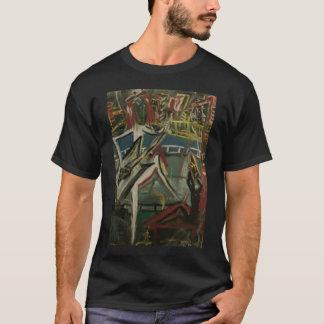 Abstrakter Gitarrist T-Shirt