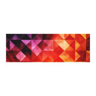 Abstrakter grafischer Entwurf Leinwanddruck