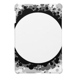 Abstrakter Greyscale Hintergrund iPad Mini Hülle