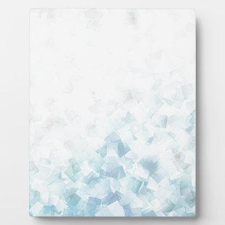 abstrakter Hintergrund Fotoplatte