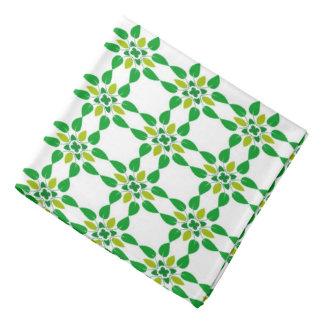 Abstrakter Hintergrund-Grün-Blatt-Entwurf Halstuch