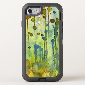 abstrakter Hintergrund OtterBox Defender iPhone 8/7 Hülle