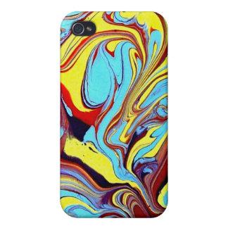 Abstrakter IPHONE dekorativer durch Stechpalme iPhone 4 Case