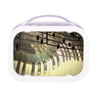 Abstrakter Klavier-Mittagessen-Kasten Brotdose