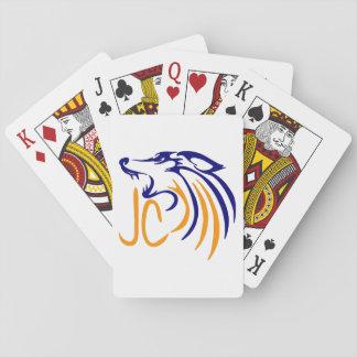 Abstrakter Kojote Spielkarten