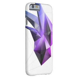 Abstrakter Kristall (Kern Miami) iPhone 6/6s Fall Barely There iPhone 6 Hülle