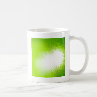 Abstrakter Kristall reflektieren Limones Kaffeetasse
