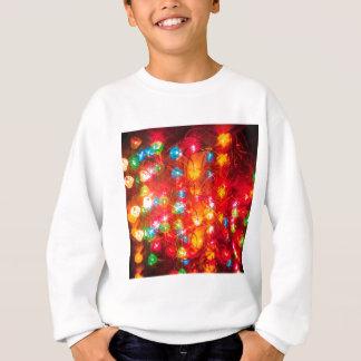 Abstrakter Kristall reflektieren sich gefärbt Sweatshirt