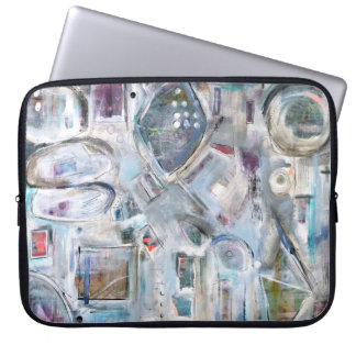 Abstrakter Kunst-Laptop-Kasten Laptopschutzhülle