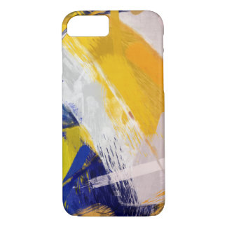 Abstrakter Kunst-Strand-Volleyball iPhone 8/7 Hülle