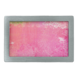 Abstrakter KunstGrungewatercolor-Druck Rechteckige Gürtelschnallen