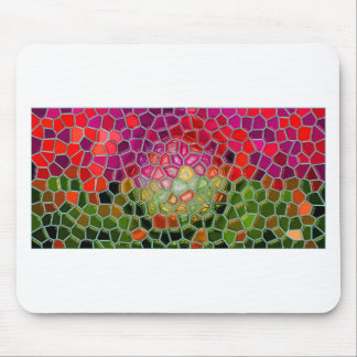Abstrakter Kunstmalereiplakatkarten-T - Shirtdruck Mauspads