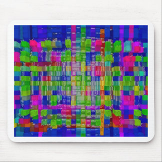 Abstrakter Kunstmalereiplakatkarten-T - Shirtdruck Mousepad