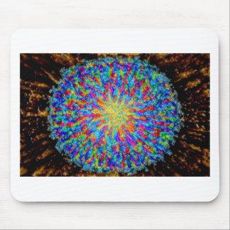 Abstrakter Kunstmalereiplakatkarten-T-Shirts Druck Mousepad