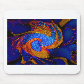 Abstrakter Kunstmalereiplakatkarten-T-Shirts Druck Mauspads