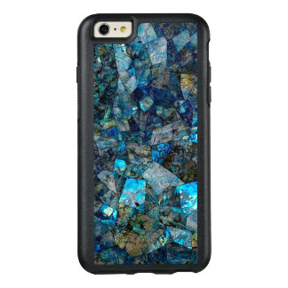 Abstrakter Labradorit-Mosaik Otterbox iPhone Fall OtterBox iPhone 6/6s Plus Hülle