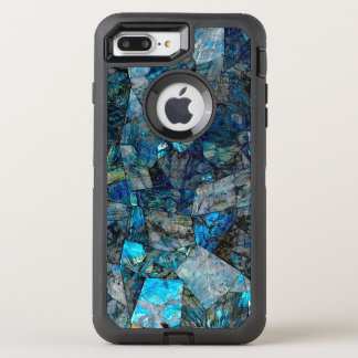 Abstrakter Labradorit OtterBox Defender iPhone 8 Plus/7 Plus Hülle