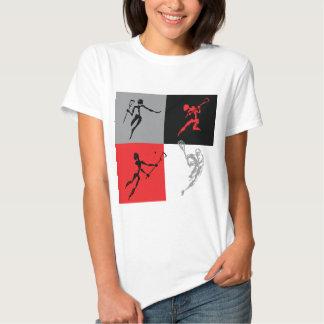 Abstrakter Lacrosse Hemden