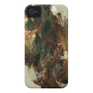 Abstrakter Maler-Spritzer iPhone 4 Etuis
