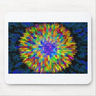 Abstrakter Malereiplakat-T - Shirtdruck der feinen Mousepad