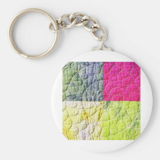 Abstrakter Metallblatt-Regenbogen rostiges antikes Schlüsselanhänger