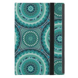 Abstrakter Musterentwurf Boho Mandala Etui Fürs iPad Mini